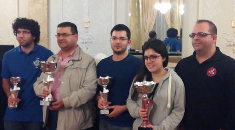 Juan Jose Rubio y Cristina Cabrera nuevos campeones Absolutos Provinciales
