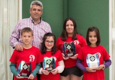 Una campeona y tres subcampeones en los Campeonatos de Andalucia