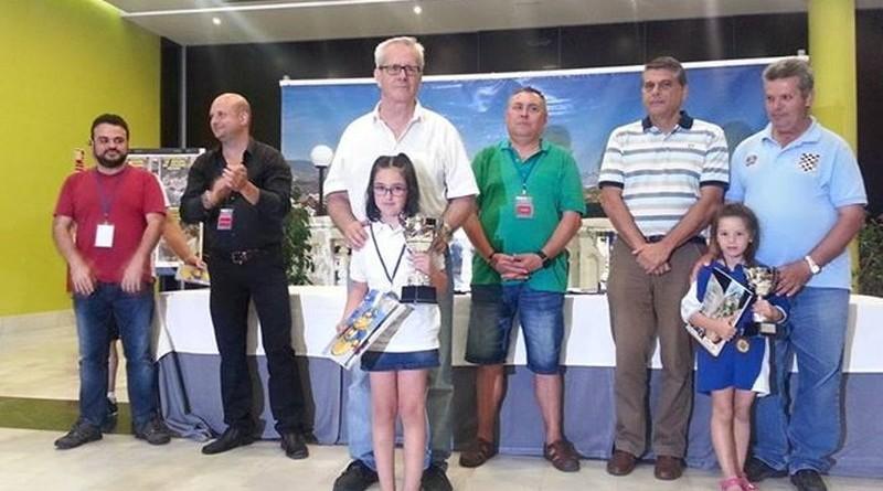 Claudia Mullor Subcampeona de España sub 8