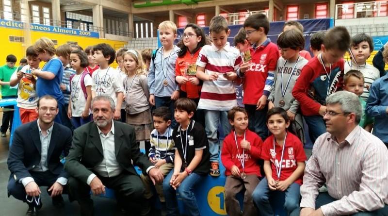 Entrega de premios del Circuito Escolar Provincial de Ajedrez