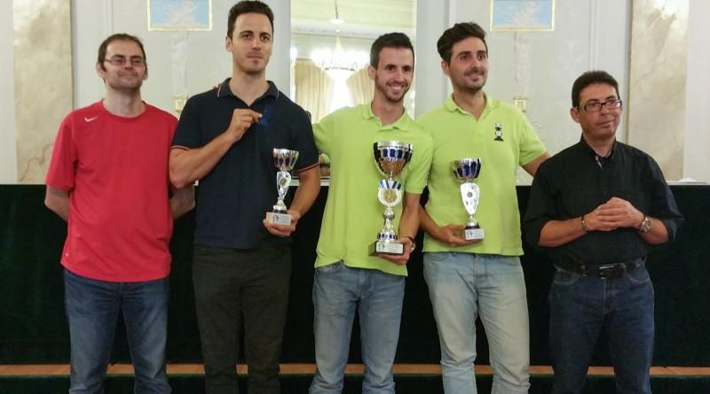 Daniel Pastor es el Campeón Provincial de Ajedrez Relampago 2015