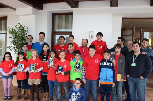 Tres campeonas y cuatro podiums en los Campeonatos de Andalucía 2016