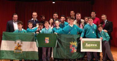 Participación Equipo Almeriense del Colegio Agave de Almería en el III Campeonato de España por equipos de Colegios