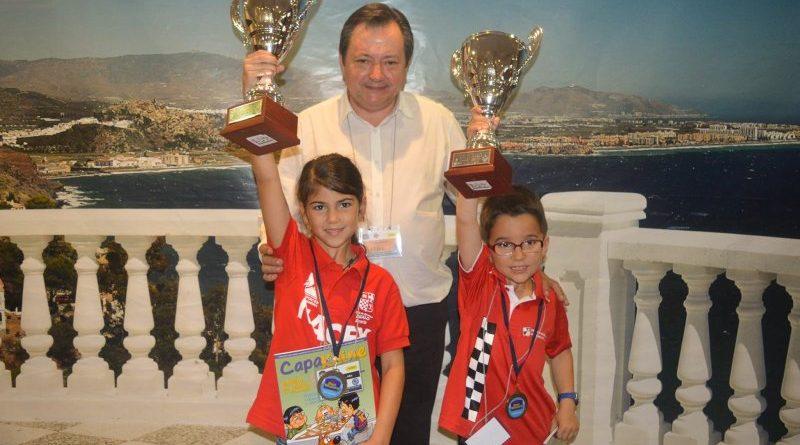 Alba Barranco Campeona de España PreBenjamin Femenina 2016