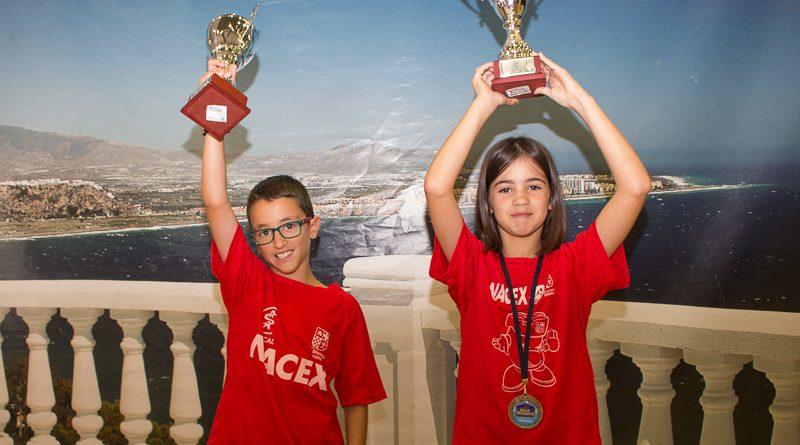 Aitana Portero Subcampeona y Ciro Revaliente tercero en el Campeonato de España Sub 10