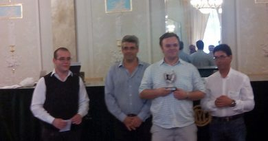 Nedelea es el Campeón Provincial de Ajedrez Activo 2016
