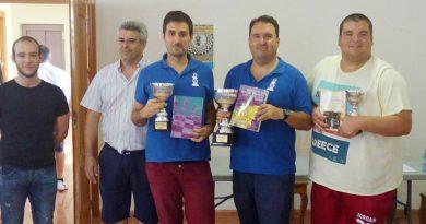 Francisco Galindo es el Campeón del Provincial Blitz 2016