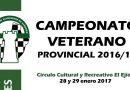 Campeonato Veterano Provincial de Almeria 2017