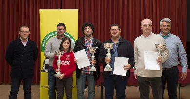 Juan Jose Rubio y Aitana Portero Campeones Absolutos Provinciales 2017