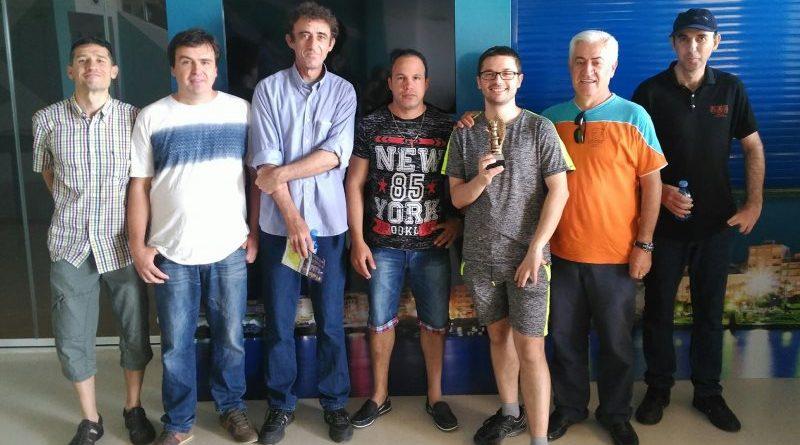 El equipo del Club Vicente Bonil campeón de la Copa por Equipos 2017