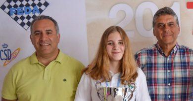 Ana Redondo Campeona de España sub18, segunda sub16 y tercera sub18 rápido