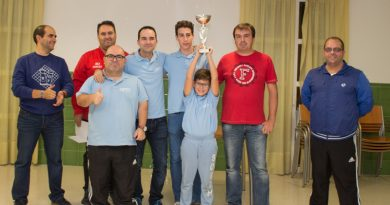 Club Deportivo Ajedrez Tijola campeón de la Segunda División Almeriense