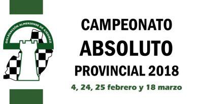 Campeonato Absoluto Provincial 2018