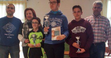 Francisco Merelo y Marina López campeones provinciales juveniles 2018