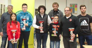 Savins Puertas, Javier Garrido y Aitana Portero son los campeones del Absoluto Provincial 2018