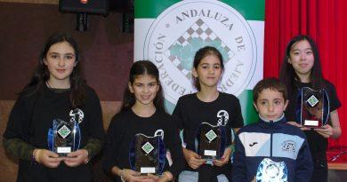 Dos campeonas y tres podiums en los Campeonatos de Andalucía 2018