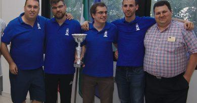 El equipo del Club Reverte Minerals campeón de la Copa por Equipos 2018