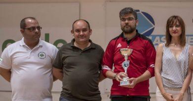 Aurelio Gallardo se hace con el título del Campeón Provincial de Ajedrez Activo 2018