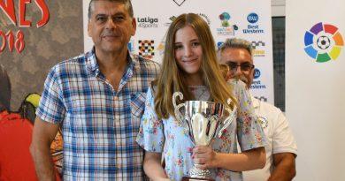 Ana Redondo Benavente campeona de España en el sub18 de rápidas