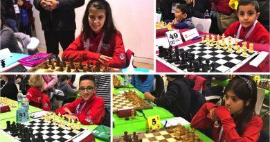 Almerienses en el mundial Sub12 de Santiago