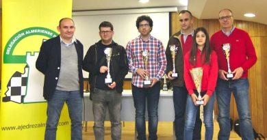 Savins Puertas, Pablo Navarro y Aitana Portero son los campeones del Absoluto Provincial 2019