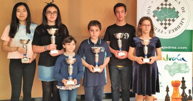 Cuatro campeones y dos subcampeonas en el Andaluz de sub08 a sub16
