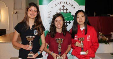 Laura Wang tercera en el Campeonato Juvenil Andaluz 2019