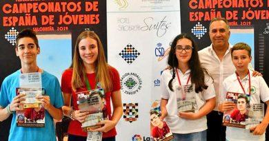 Ana Redondo campeona de España sub18 y Claudia subcampeona sub12
