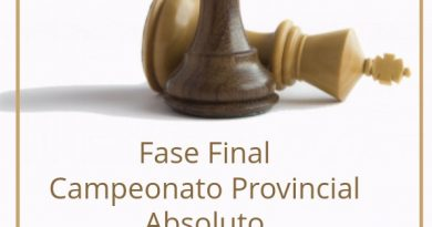 Fase final provincial absoluto 2020