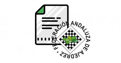 Circular de la FADA sobre las becas y clasificados a los campeonato de Andalucía 2021