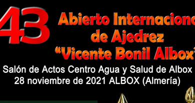 "43 Open Internacional de Ajedrez ""Vicente Bonil Albox"""